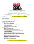 2013 KENDA TKO Amateur Schedule and Rules