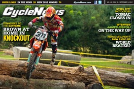 Cycle News TKO cover Sept 4 2012
